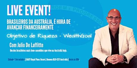 Objetivo de Riqueza - WealthGoal Workshop - AU$99 - Buffett Lunch Included tickets