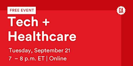 GA Webinar | Tech and Healthcare tickets