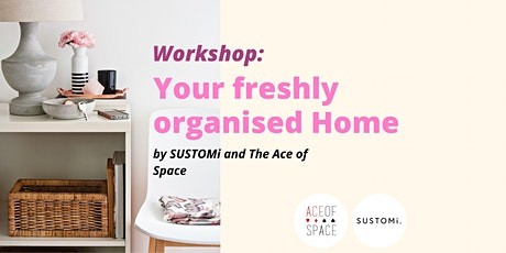 Your Freshly Organised Home Workshop tickets