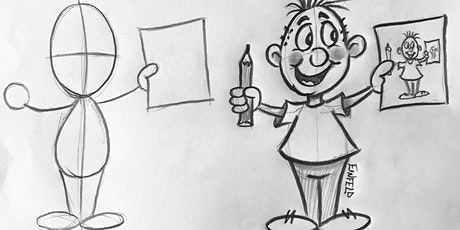 Cartoon Drawing with Phillip Einfeld (5-8 yrs) Online tickets