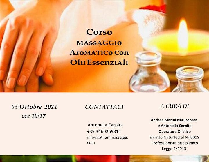 Immagine Corso Massaggio Aromatico, comprensivo d'insegnamento, manuale e Attestato