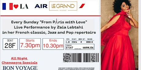 """""""From Paris With Love"""" tickets"""