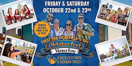 Oktoberfest Houston 2021 tickets