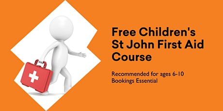 Free Children's First Aid Course  for 6-10 age group @ Huonville Library tickets