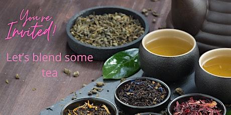 Tea blending workshop let's blend some yumm. tickets