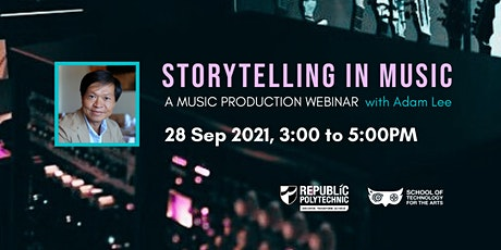 Storytelling in Music - A Music Production Webinar tickets