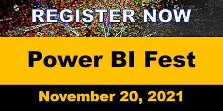 Power BI Fest 2021 tickets