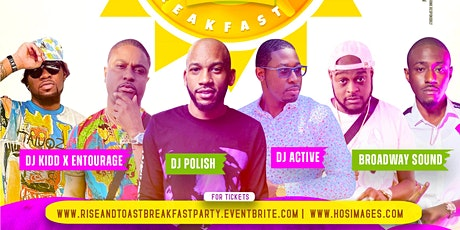 RISE & TOAST BREAKFAST PARTY NEW YORK tickets