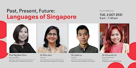 Past, Present, Future: Languages of Singapore tickets