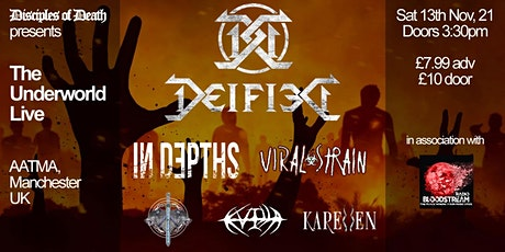 Deified and 5 of Manchester's Best tickets