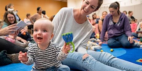 School Holiday Program - Baby Sensory Session tickets