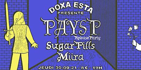 DOXA ESTA présente : Ça v aller, sortie du premier album de Pays P. billets