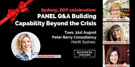 Sydney, EOY Celebration: Building Capability Beyond the Crisis Panel tickets