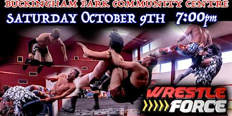 Live Wrestling in Aylesbury! tickets