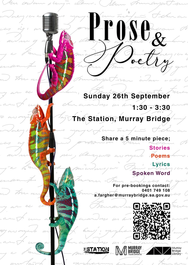Prose & Poetry (THE STATION EVENT) image