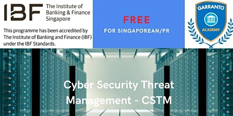 FREE Cybersecurity Threat Management course (CSTM) tickets