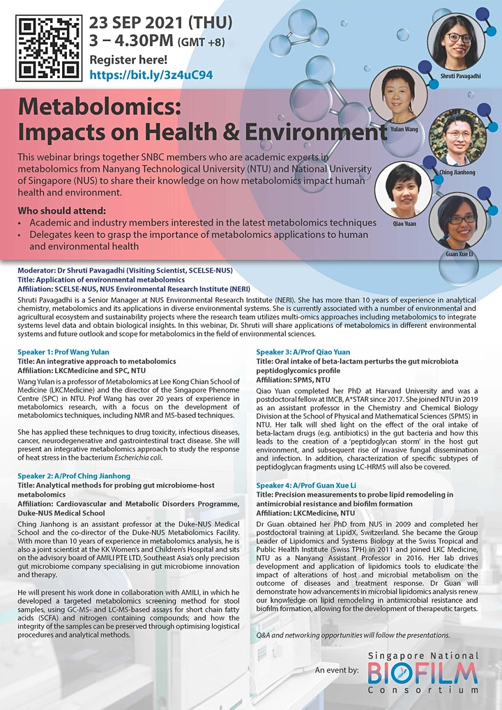 Metabolomics: Impact on Health and Environment image