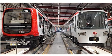 Visite des ateliers de maintenance du métro de Lyon : Lignes AB billets
