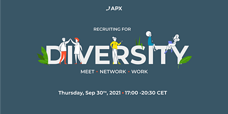 APX Recruiting for Diversity event Tickets