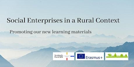 Learning Materials for Rural Social Enterprises tickets