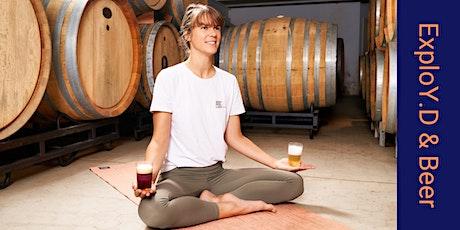Yoga & Beer. Awaken your senses! billets
