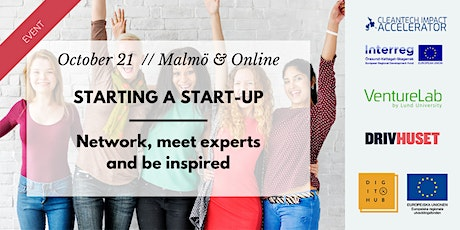 Event and meeting experts // Starting a startup tickets