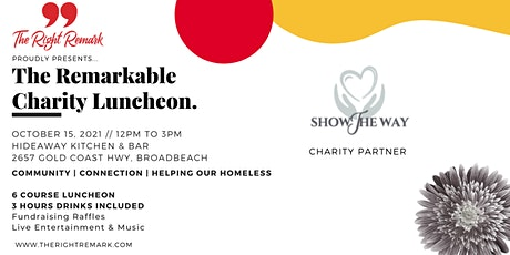 The Remarkable Charity Luncheon 2021 tickets
