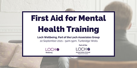 First Aid for Mental Health  Course - Tunbridge Wells tickets