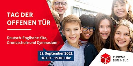 Tag der offenen Tür – Phorms Campus Berlin Süd tickets