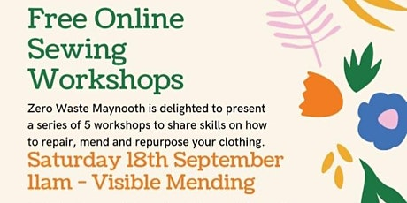 Visible Mending with Zero Waste Maynooth & The Craft Corner tickets