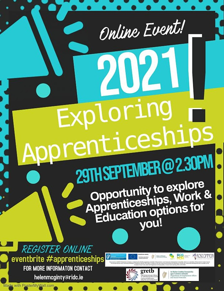 Exploring Apprenticeships 2021 image