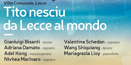 Tito Nesciu - da Lecce al mondo - I CONCERTI DEL CONSERVATORIO biglietti