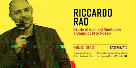 Riccardo Rao biglietti