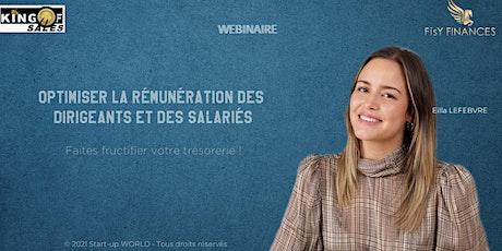 Optimiser la rémunération des dirigeants et des salariés billets
