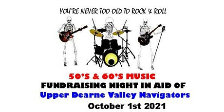 The Hasbeanz Rock and Roll Night (for Upper Dearne Valley Navigators) tickets
