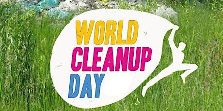 World Clean-Up Day : ramassage de déchets sur les bords de Saône billets