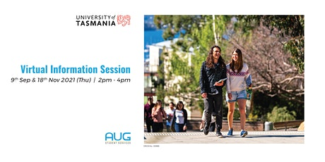 University of Tasmania Virtual Information Session tickets