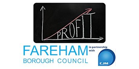 FREE 7 Steps to Profitability Webinar | Fareham Business Support tickets