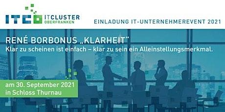 IT-Unternehmerevent 2021 Tickets