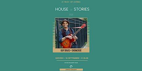 House of Stories   Guy Davis biglietti