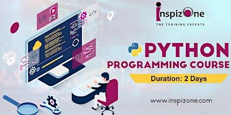 Python Programming Certification Course Singapore - Beginners Python Progra tickets