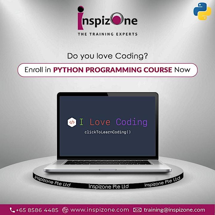 Python Programming Certification Course Singapore - Beginners Python Progra image