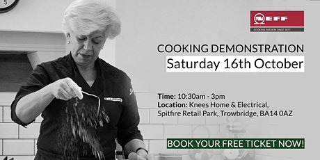 Neff Cooking Demonstration with Home Economist Alison Haigh tickets
