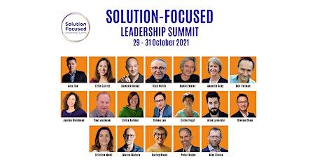 Solution Focused Leadership Summit 2021 tickets