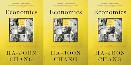 WEAll Read September: Economics, The User's Guide by Ha-Joon Chang tickets