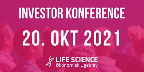 Life Science Investor Konferencer 20. oktober 2021 tickets