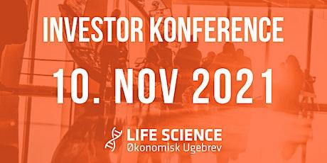 Life Science Investor Konferencer 10.november 2021 biljetter
