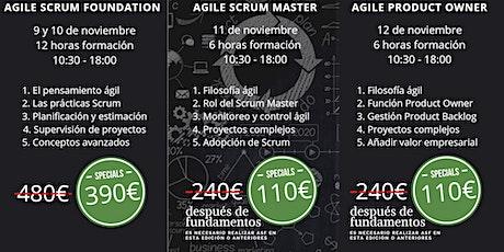 Cursos Agile Scrum Foundation - Scrum Master - Product Owner - Barcelona entradas