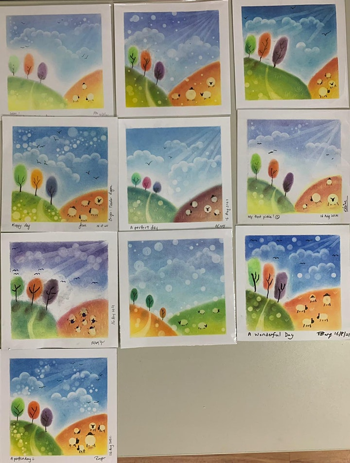 Pastel Art Course starts  Oct 11 (8 sessions) image