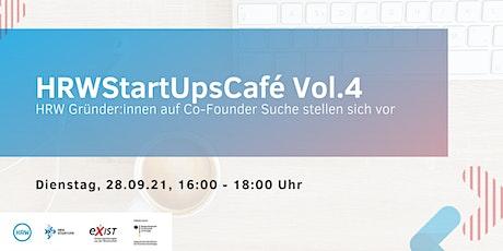 HRWStartupsCafé Vol. 4 Tickets